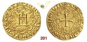 4a859f3f2c Lot 201 GENOVA REPUBBLICA (1139-1339) Genovino di III tipo. D/ Castello  entro archi ornati R/ Croce entro archi ornati. MIR 7 Au g 3,49 Rara • Di  grande ...